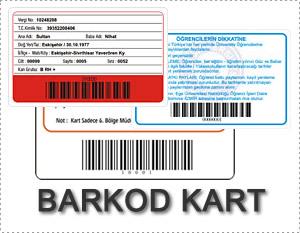 Barkod Kart